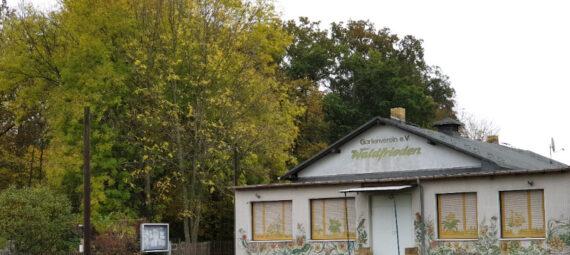 Unser Vereinshaus im Herbst